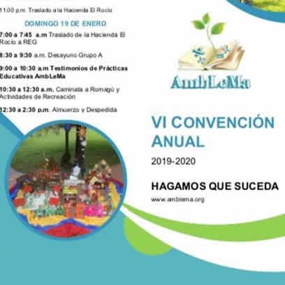 VI Convención Anual de Fundación  AmbLeMa