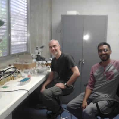 Visita del Dr. Bernhard A. Huber