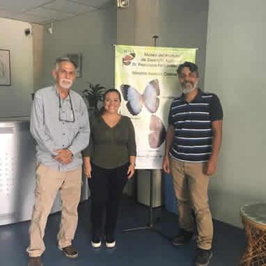 Visita de la Biol. Maria Fernada Puerto-Carrillo, del IVIC