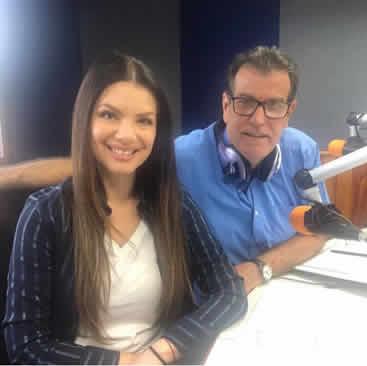 Entrevista con Albani Lozada y Unai Amenabar en Agenda Éxitos 99.9FM